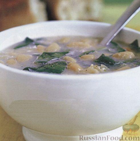 Рецепт Фасолевый суп-пюре