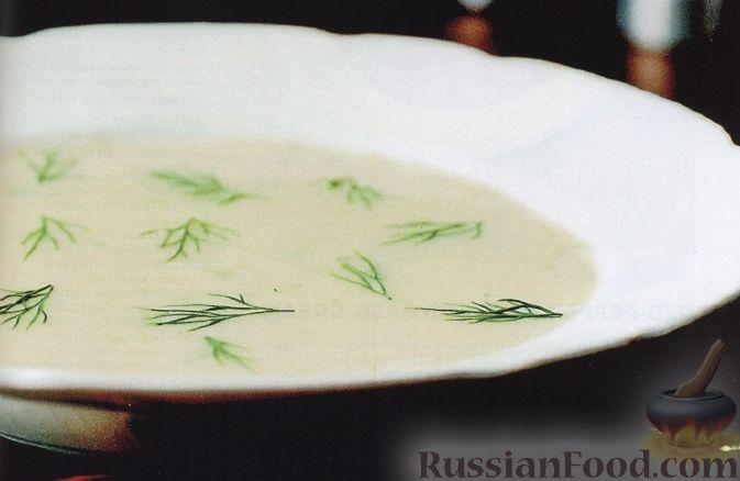 Рецепт Суп-пюре из картофеля и порея