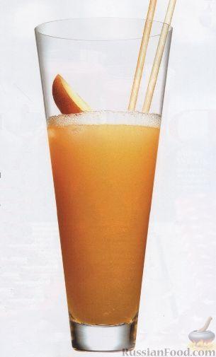Фото к рецепту: Персиковый коктейль