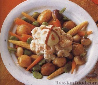 Рецепт Картофельно-овощной салат