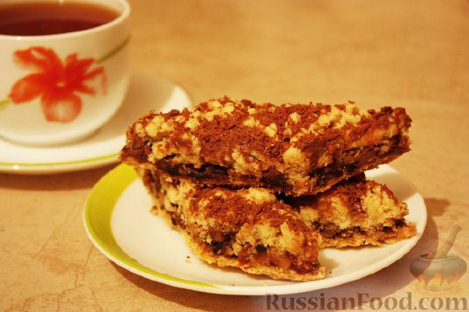 """Рецепт Пирожное """"ИОШка"""" (Изюм, Орехи, Шоколад)"""