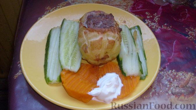 Рецепт Картофельные лапти