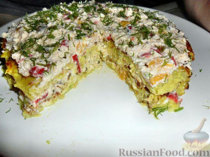 кабачковый пирог в духовке рецепт с фото