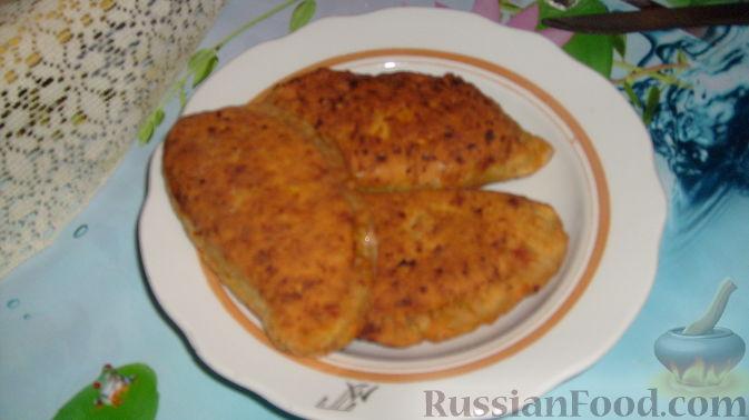 Рецепт Тыквенные чебуреки с мясом