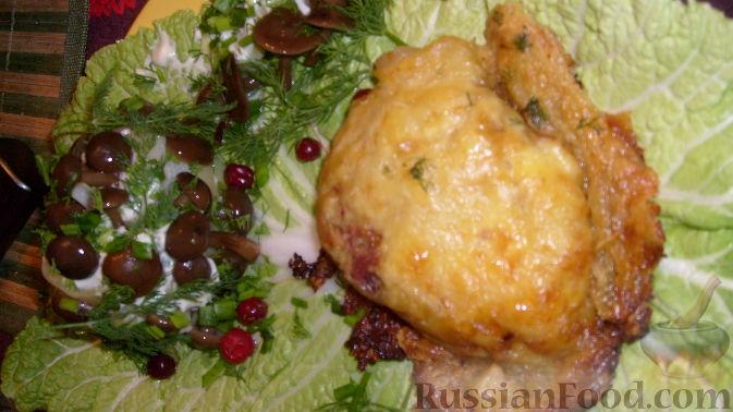 Рецепт Мясо под шубой