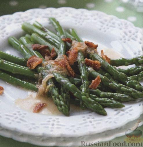 Рецепт Спаржа с беконом