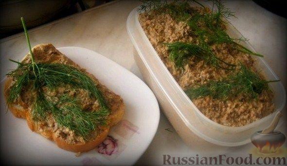 Рецепт Домашний печеночный паштет