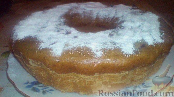 Рецепт Кекс кофейно-банановый