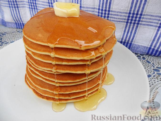 Рецепт Американские блинчики (pancakes)