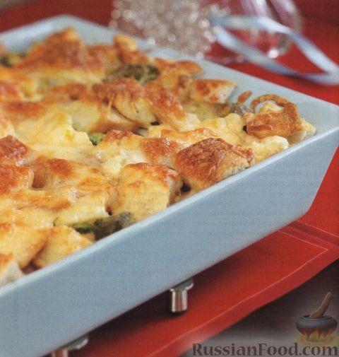 Рецепт Капуста, запеченная с сыром в духовке