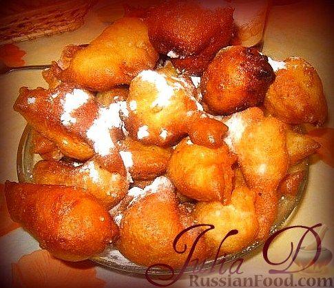 Рецепт Пышки-пончики