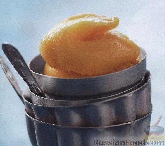 Рецепт Сорбет из манго и персика