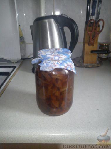 Фото приготовления рецепта: Варенье из айвы - шаг №4