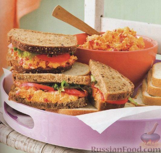 Рецепт Бутерброды с пикантной начинкой