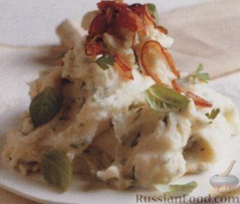 Рецепт Картофельное пюре с травами и специями