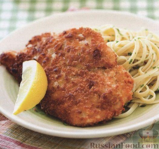 Рецепт Куриное филе под хрустящей чесночной корочкой