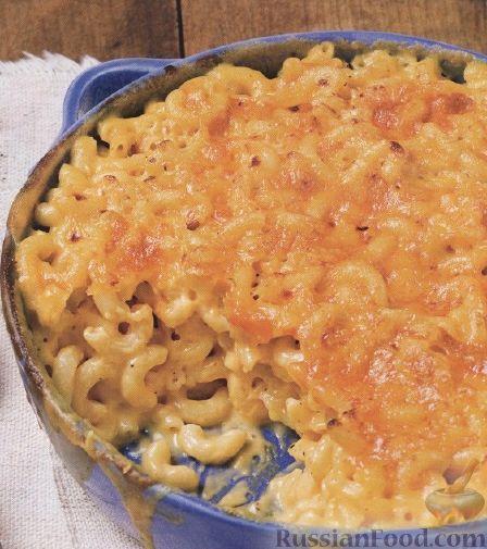 Макароны с сыром и яйцом рецепт с фото