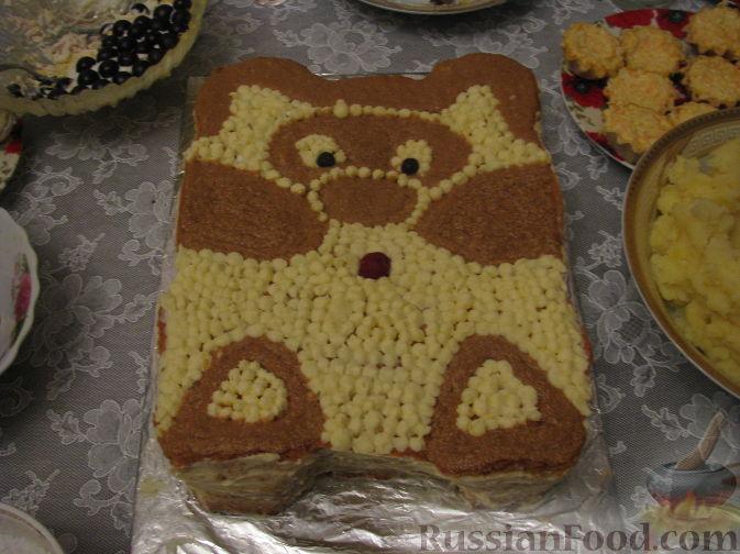 Легкий торт к дню рождения фото 5