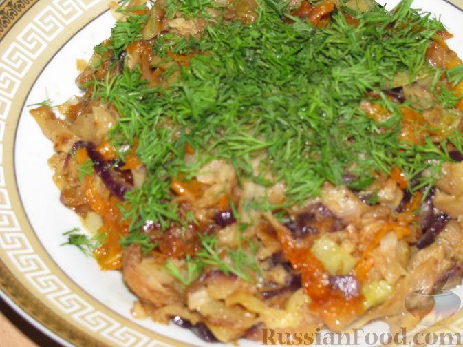 Рецепт Овощное рагу с корневым сельдереем