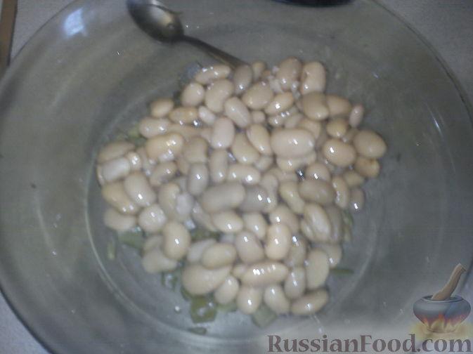 Как приготовить вкусный Салат из фасоли горошка и редиса