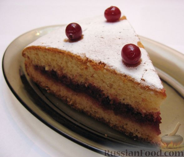 Рецепт Пирог из сгущенки
