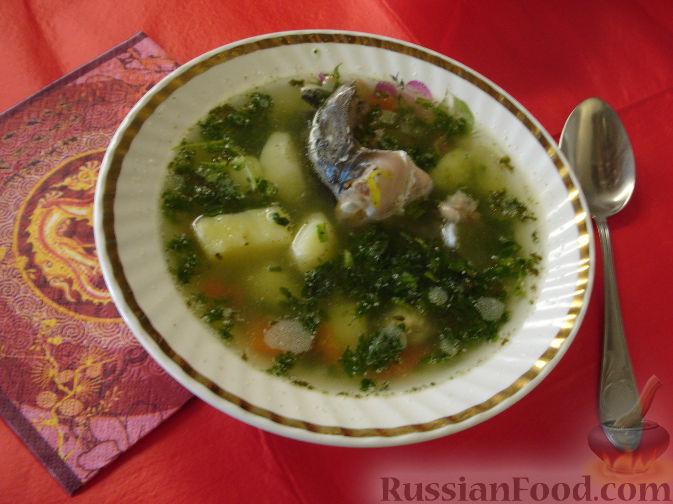 Рецепт Уха с водкой