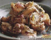 Фото к рецепту: Картофельный салат с сельдереем и эстрагоном