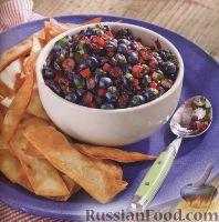 Фото к рецепту: Сальса с черникой