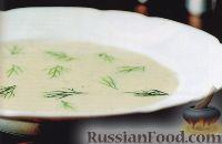 Фото к рецепту: Суп-пюре из картофеля и порея
