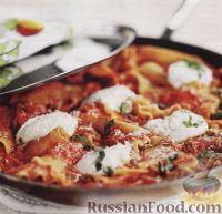 Фото к рецепту: Лазанья на сковороде