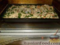 Фото приготовления рецепта: Щука, запеченная с картофелем - шаг №8