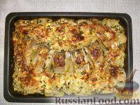 Фото приготовления рецепта: Щука, запеченная с картофелем - шаг №9