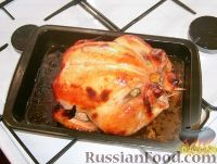 Фото к рецепту: Курочка в горчично-медовом соусе