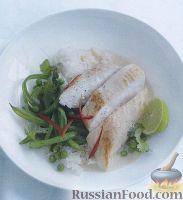 Фото к рецепту: Рис с курицей и зеленью