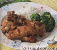 Фото к рецепту: Куриные крылышки, жаренные на гриле