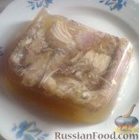 Фото к рецепту: Холодец из свинины с индейкой