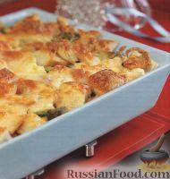 Фото к рецепту: Капуста, запеченная с сыром в духовке