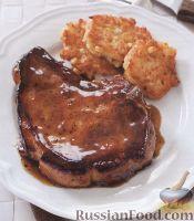 Фото к рецепту: Свиное мясо с соусом на основе виски