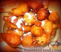 Фото к рецепту: Пышки-пончики