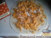 Фото приготовления рецепта: Вертута с тыквой (яблоками) - шаг №3