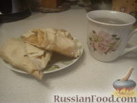 Фото приготовления рецепта: Вертута с тыквой (яблоками) - шаг №6