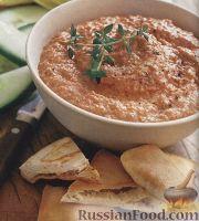 Фото к рецепту: Паста из жареного болгарского перца
