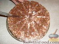 Фото приготовления рецепта: Манковый тортик - шаг №5