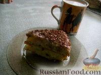Фото приготовления рецепта: Манковый тортик - шаг №6