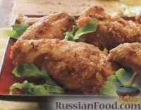 Фото к рецепту: Курятина, жаренная в простой панировке