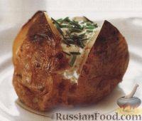 Фото к рецепту: Печеный картофель
