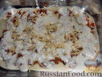 Фото приготовления рецепта: Лазанья болоньезе - шаг №9