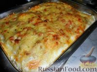Фото приготовления рецепта: Лазанья болоньезе - шаг №10
