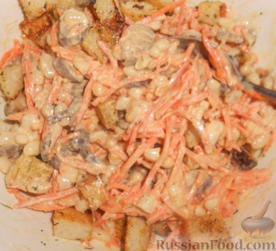 Паста с курицей шампиньонами в сливочном соусе рецепт