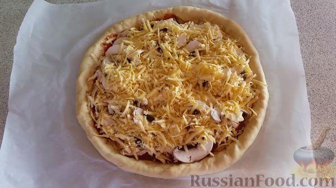 Фото приготовления рецепта: Картофельно-мясной пирог на кефире - шаг №16